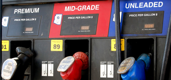 When to buy high octane gasoline