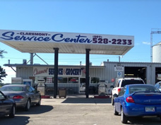Picture of the Claremont shop of Claremont Service Center